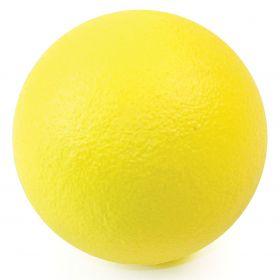 Coated Foam Ball 90mm - Yellow