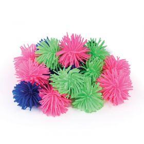 Plastic Pom-Pom Ball - Set of 4