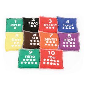 Number Bean Bag - Bag of 10