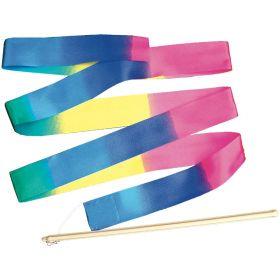 Rainbow Ribbon  300mm Stick, 2m Ribbon