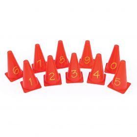 Number Cones  230mm - Set of 10