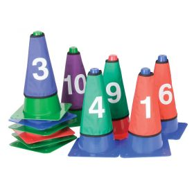 Numbered Cone Sleeve - Set of 10