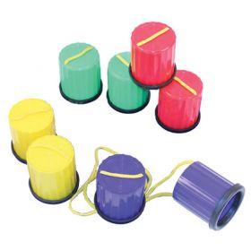 Plastic Non-Slip Stilts - Bag of 4