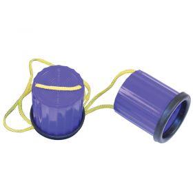 Plastic Non-Slip Stilts - Blue