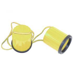 Plastic Non-Slip Stilts - Yellow