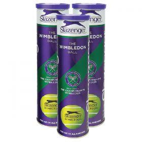 Slazenger Wimbledon Tennis Balls - 1 Dozen