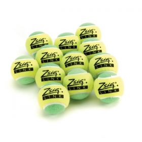 Zsig Link Green Mini Tennis Balls - Dozen