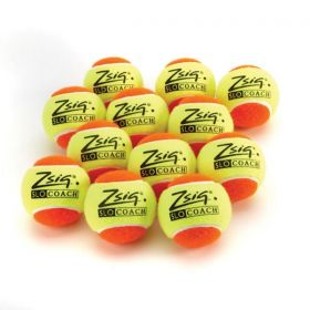 Zsig SLOcoach Orange Mini Tennis Balls - Dozen