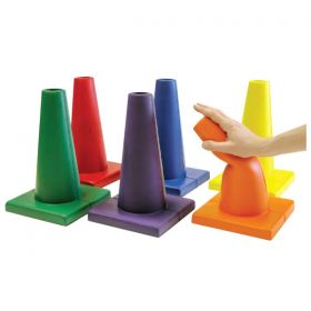 Soft Moulded Foam Cones Set