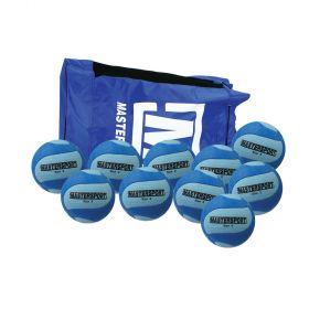 MasterSport Tchoukball UK Ball - Size 2, Bag of 10