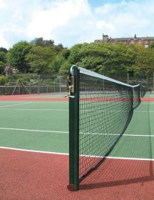 S1 Round Tennis Posts without Sockets