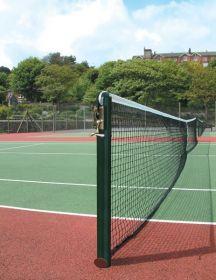 S1 76mm Round Tennis Posts