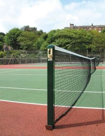 S8 76mm Square Tennis Posts
