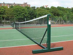 Practice Steel Freestanding Tennis Posts
